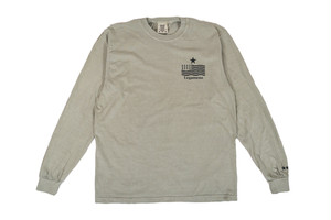 "NEW【""USA"" vintage long sleeve】/ sand"