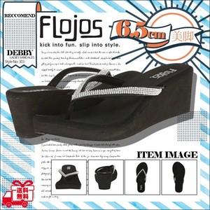 303DEBBY フロホース 厚底サンダル レディース 女子 ビーチサンダル 大人気 ブランド 美脚 かわいい 履きやすい 黒 FLOJOS