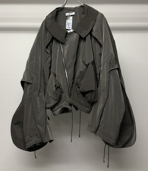 PER GOTESSON AVIATOR JACKET GREY