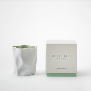 心地よい香りのキャンドル Crinkle Candle -YUKI- KITCHIBE