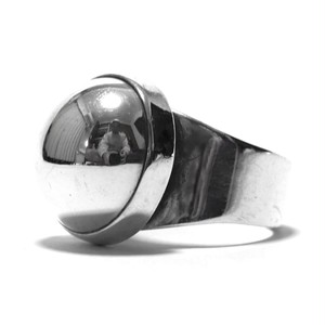 Vintage Sterling Silver Mexican Domed Ring