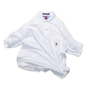 Used☆ 90's TOMMY HILFIGER カットソー生地 Polo Shirts