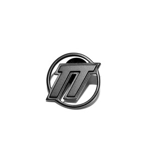 D.TT.K EMBLEM LOGO PIN BADGE BLACK