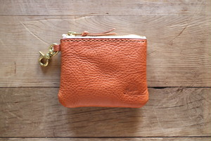 """Heritage"" Coin Purse コインケース  Camel"