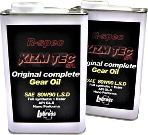 KIZM TEC × Lubross R-spec SPL 80W90 LSD ギヤオイル 1L gear oil