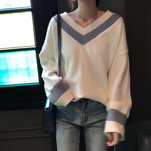 simple line knit 3color
