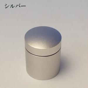 ミニ骨壷With(ウィズ)T 直径25mm×高30mm シルバー【日本製】