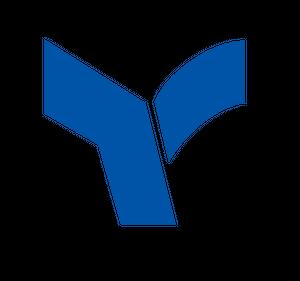 アルファベット「Y」をモチーフにしたシンボルマーク