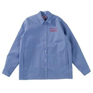 MARTINE ROSE Stripe Shirt Jacket