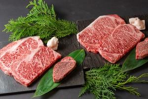 鉄板焼「さがみ」神戸牛・松阪牛ステーキ 詰合せギフトBOX