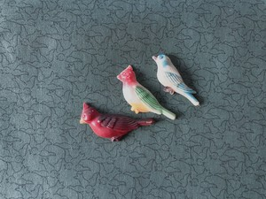 AMERICA 1960s Vintage bird magnets B