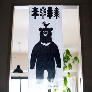 手ぬぐい 熊