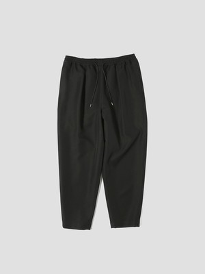 yoshiokubo TWILL TUCK PANTS Black YKF21414