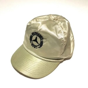 OTTO : MERCEDES BENZ nylon trucker CAP (used)