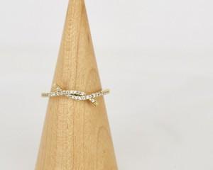 Cross lady ring