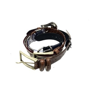 Y/PROJECT 6 BUCKLE PATCHWORK BELT