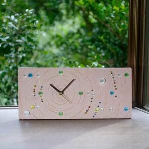 星空の時計 (置時計、壁掛け時計、兼用) -8