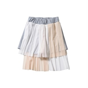 tulle layered pants #gray