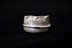 Luck feather ring