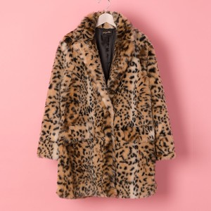 《予約商品》LEOPARD LONG COAT(VN1711001)