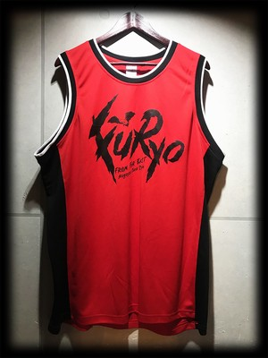 FuRyo / BASKETBALL SHIRT(RED×BLACK)