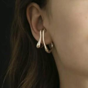 Silver925 acortar earcuff 0246