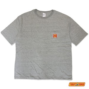 TM-PO2004 TAKAYAMANIA BIG POCKET Tシャツ GRAY