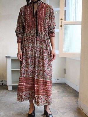 70s London vinatge cotton dress