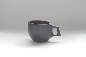 19 mogu cup M  BLACK(山桜材)