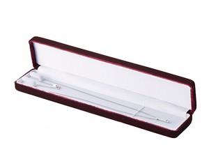 ネックレスケース細長Sサイズ ベルベットシリーズ 12個入り AR-N1VT