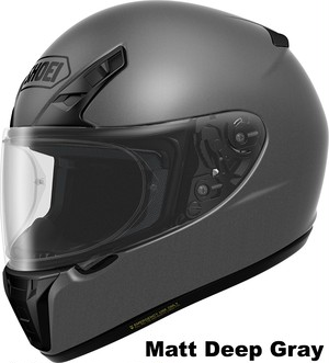 SHOEI RYD Matt Deep Gray
