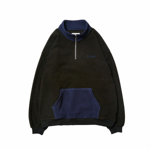 EVISEN FREEZE FLEECE ZIP BALCK エビゼン フリース