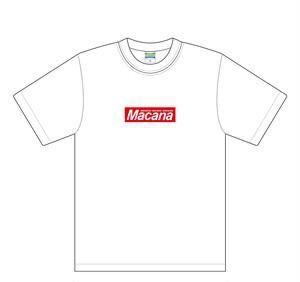 【受注生産】MACANA BOX T-shirt【ホワイト】