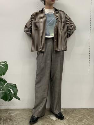 ELLEN TRACY two tuck slacks  pants【6】