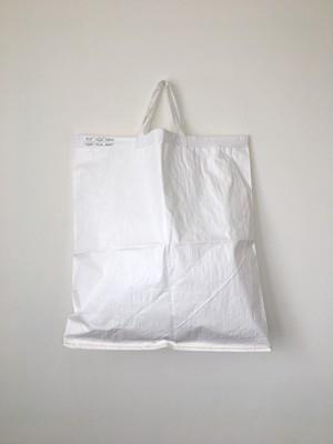 ショッピングバッグ ホワイト L Shopping Bag White 65(PUEBCO)