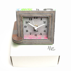 Mad Wood / Frame Clock