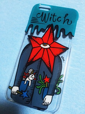 "i phone6 case ""WITCH"""