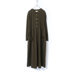 """""""Eddie Bauer"""" V-Neck Cotton Jersey Dress / エディー・バウアーVネックコットンワンピース"""