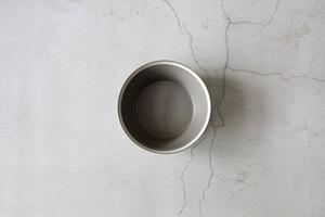 木村硝子×イイホシユミコ【Yumiko Iihoshi porcelain】 18.5cmボウル dishes 185 bowl L (moss gray) /matte