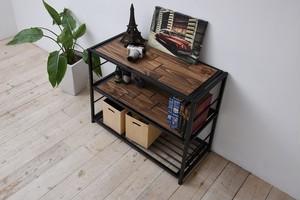 Industrial 3 Shelf / インダストリアルスタイル インダストリアル 3段シェルフ棚