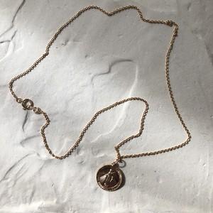 K14gf Coin necklace