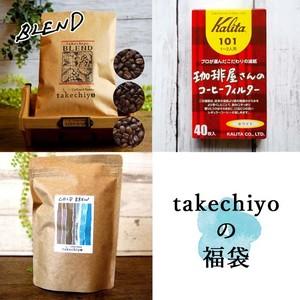 【夏の福袋】水出しアイスコーヒーパック+コーヒー豆100g(ブレンド)+ペーパーフィルター