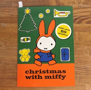 【洋書】Christmas with miffyシールブック