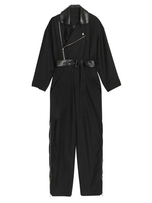 レザーカラージャンプスーツ(2col)  15500