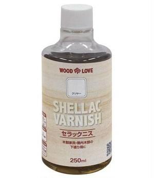 セラックニス SHELLAC VARNISH(250ml)