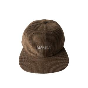 MANIKA  LOGO / 6Panel Cord Cap / BROWN