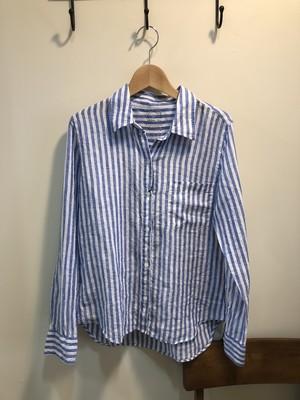 【yanuk】ストライプシャツ