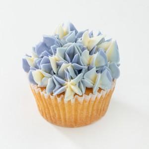 BLUE FLOWER CAKE 6P