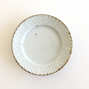 砥部焼 皐月窯 4寸皿