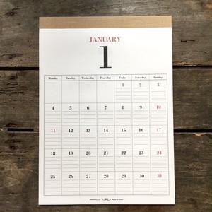 mucu壁掛けカレンダー2021